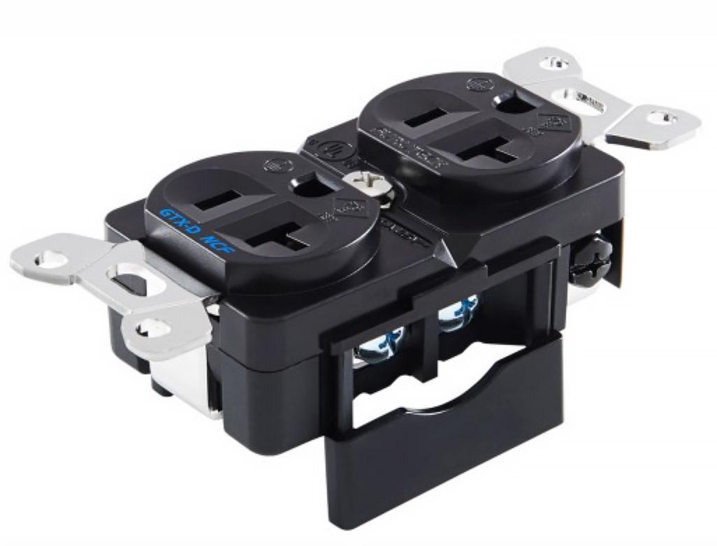 Furutech GTX-D (R) NCF Audiophile Duplex AC Receptacle